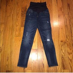 Old Navy Boyfriend Skinny Maternity Jeans